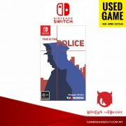 PREOWNED NINTENDO SWITCH THIS IS POLICE