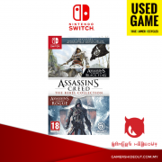 PREOWNED NINTENDO SWITCH ASSASSIN'S CREED THE REBEL COLLECTION